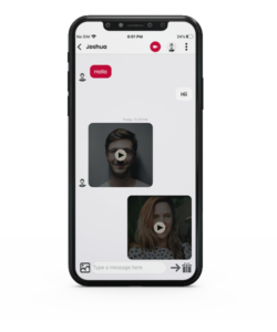 Dating app video chat